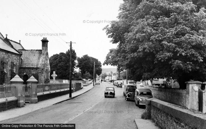 Photo of Stranorlar, Main Street c.1960