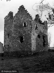 Stranraer, Galdenoch Castle c.1955