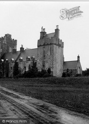 Stranraer, Lochnaw Castle 1951