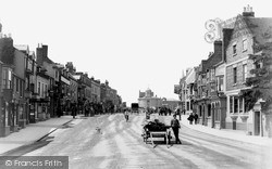 Stratford-Upon-Avon, Bridge Street c.1885