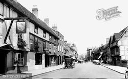 Stratford-Upon-Avon, Chapel Street 1922