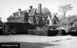 Stratford-Upon-Avon, Clopton House c.1950