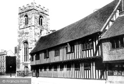 Stratford-Upon-Avon, Guild Chapel And Grammar School 1892