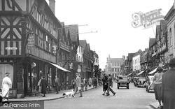 Stratford-Upon-Avon, High Street 1949