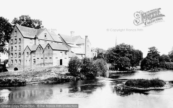 Stratford-on-Avon,Lucy's Mill 1892,Warwickshire