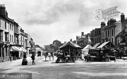 Stratford-Upon-Avon, Market Place 1892