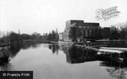 Stratford-Upon-Avon, Memorial Theatre c.1935