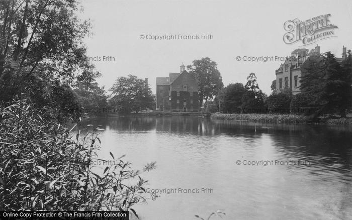 Stratford-on-Avon,Mill and River 1892,Warwickshire
