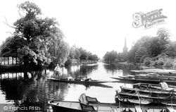 River Avon 1922, Stratford-Upon-Avon