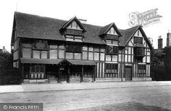 Stratford-Upon-Avon, Shakespeare's Birthplace 1892