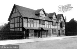 Stratford-Upon-Avon, Shakespeare's Birthplace c.1882