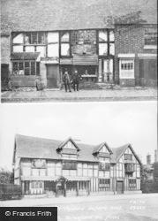 Stratford-Upon-Avon, Shakespeare's Birthplace Composite c.1890