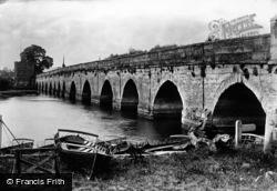 The Old Bridge 1892, Stratford-Upon-Avon