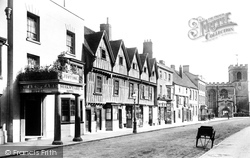 Stratford-Upon-Avon, The Shakespeare Hotel 1892