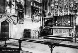 Stratford-Upon-Avon, Trinity Church, Across Choir 1892