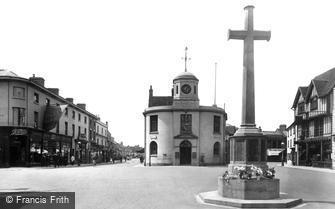 Stratford-upon-Avon, War Memorial 1922