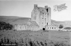 Strathdon, Corgarff Castle 1950