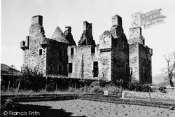 Strathdon, Glenbuchat Castle 1949