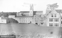 Stratton-on-The-Fosse, Downside School c.1955