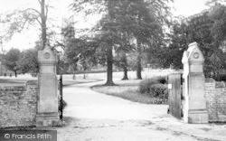 Stratton-on-The-Fosse, Downside School Entrance c.1955