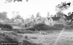 Stratton-on-The-Fosse, General View c.1955