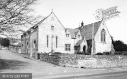 Stratton-on-The-Fosse, St Benedict's Convent And Church c.1960