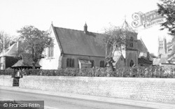 Stratton-on-The-Fosse, St Benedict's R C Church c.1960