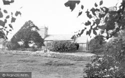 Stratton-on-The-Fosse, St Vigor's Church c.1955
