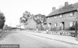 Stratton-on-The-Fosse, The Fosseway c.1955