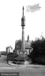 Stratton-on-The-Fosse, The Memorial c.1955