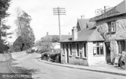 Stratton-on-The-Fosse, The Post Office c.1955