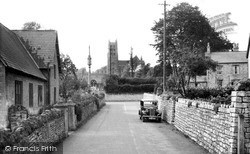 Stratton-on-The-Fosse, The Village c.1955