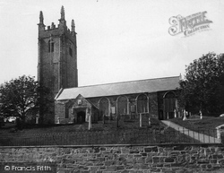 Stratton, St Andrew's Church c.1880