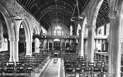 Stratton, St Andrew's Church, Nave East 1920