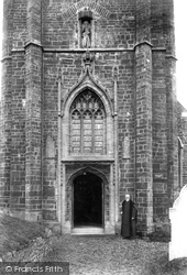 Stratton, St Andrew's Church Tower 1910