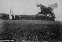 Stratton, Stamford Hill Battle Site And Monument 1906