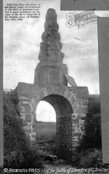 Stratton, Stamford Hill, The Battle Monument 1906