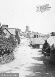 Stratton, The Bridge And St Andrew's Church 1893
