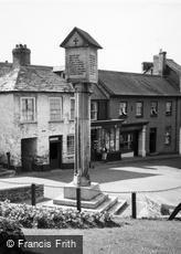 Stratton, the War Memorial c1955