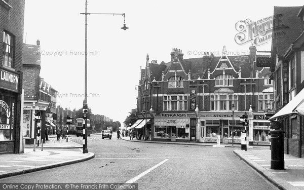 Photo of Streatham, Mitcham Lane c1955