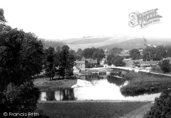 Streatley, From Goring 1896