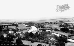 Streatley, From Streatley Downs 1890