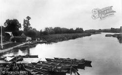 Streatley, From The Bridge 1890