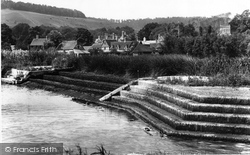 Streatley, From The Weir 1899