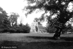 Streatley, St Mary's Church 1896