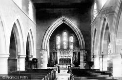 St Mary's Church Interior 1896, Streatley