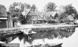 Streatley, Swan Hotel 1904