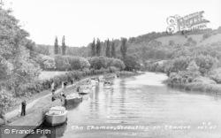 Streatley, The Thames c.1960