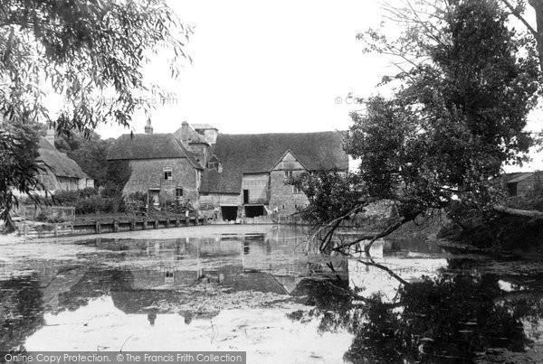 Streatley,Mill 1890,Berkshire