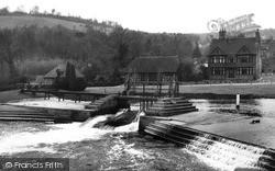 Streatley, The Weir c.1955